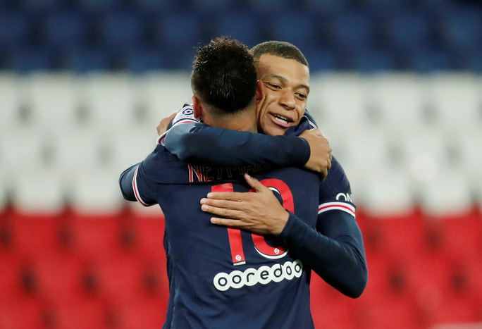 Song sát Neymar và Mbappe săn bàn, PSG đè bẹp đối thủ bằng ván đấu tennis - Ảnh 4.