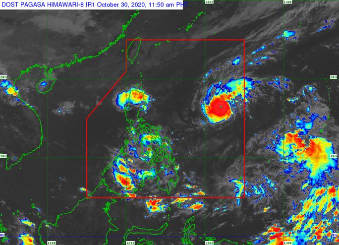 Bão Goni gia tăng sức mạnh, rầm rập tiến về Philippines - Ảnh 1.