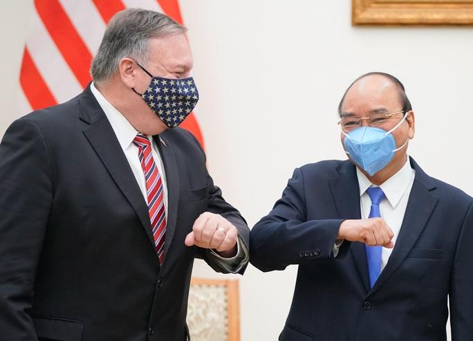 Hình ảnh chuyến thăm Việt Nam của Ngoại trưởng Mỹ Mike Pompeo - Ảnh 1.