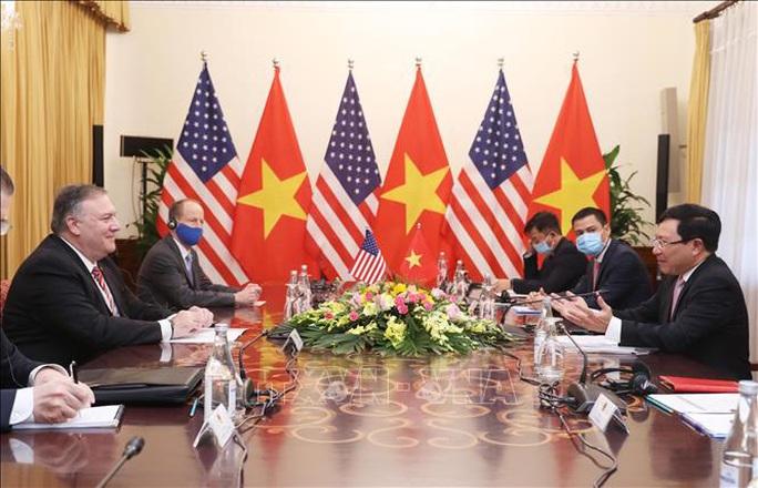 Hình ảnh chuyến thăm Việt Nam của Ngoại trưởng Mỹ Mike Pompeo - Ảnh 17.