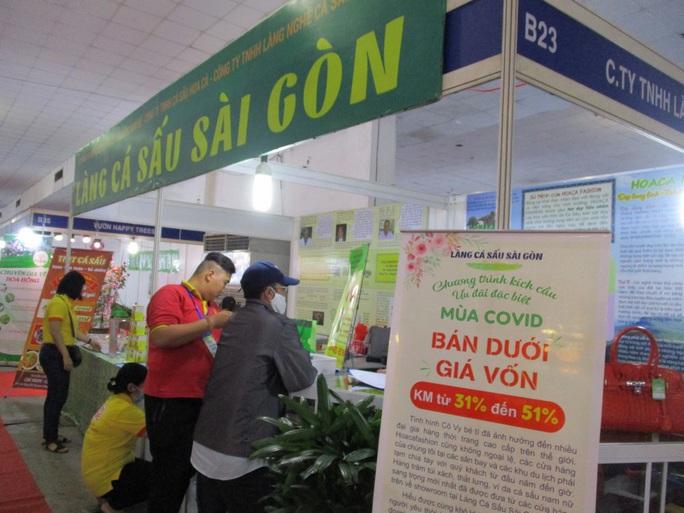 Thịt cá sấu, trái cây Thái Lan... xuất hiện tại hội chợ nông sản TP HCM - Ảnh 7.