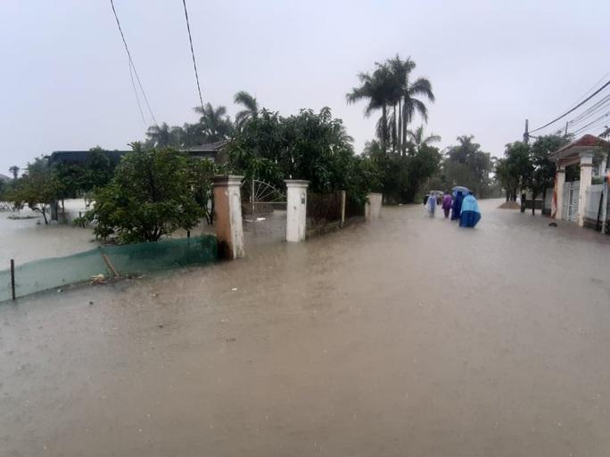 Mưa lớn, hàng ngàn nhà dân ở Nghệ An bị ngập sâu - Ảnh 11.