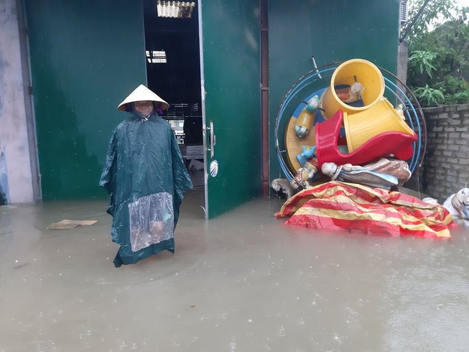 Mưa lớn, hàng ngàn nhà dân ở Nghệ An bị ngập sâu - Ảnh 13.