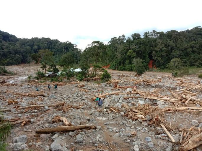 13 người bị vùi lấp ở Phước Sơn: Sạt lở khắp nơi, dân đối diện cái đói - Ảnh 7.