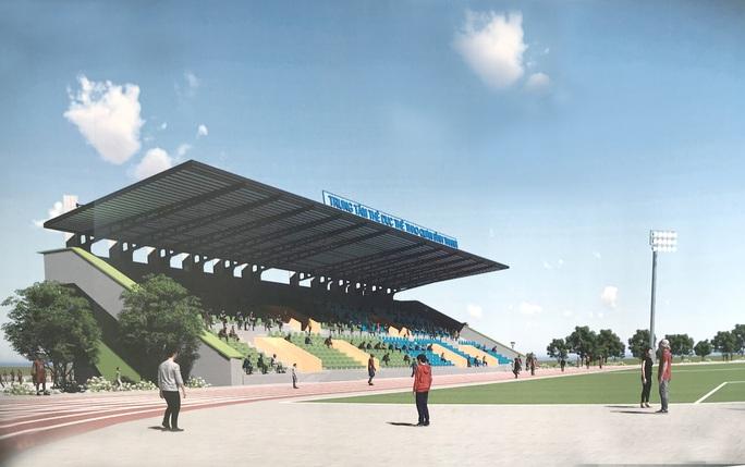 Cụm sân bóng Bình Thạnh sắp hoàn thành - Ảnh 1.