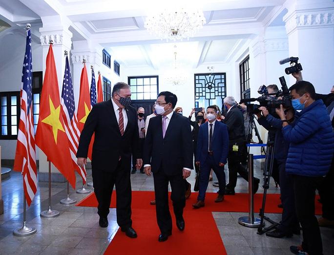 Hình ảnh chuyến thăm Việt Nam của Ngoại trưởng Mỹ Mike Pompeo - Ảnh 7.