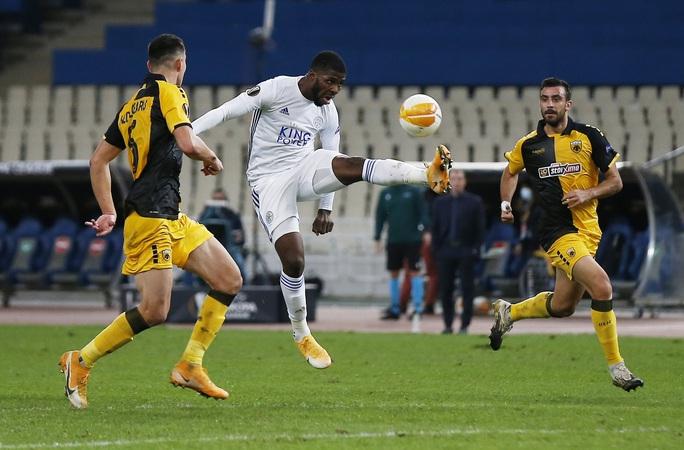 Leicester thắng dễ ở Hy Lạp, Arsenal đại phá láng giềng Dundalk - Ảnh 1.