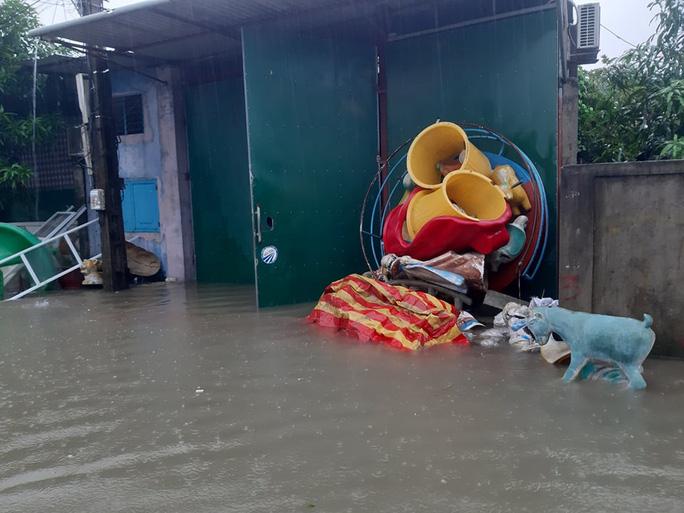 Mưa lớn, hàng ngàn nhà dân ở Nghệ An bị ngập sâu - Ảnh 7.