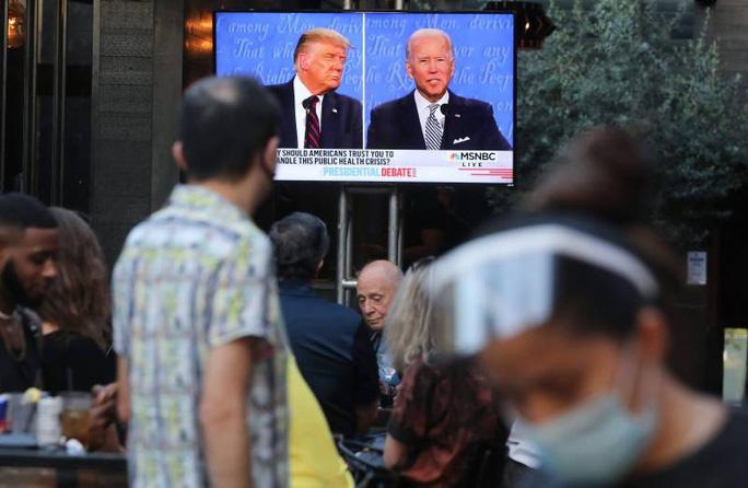 Hai ông Trump - Biden quyết chiến đến phút cuối - Ảnh 2.