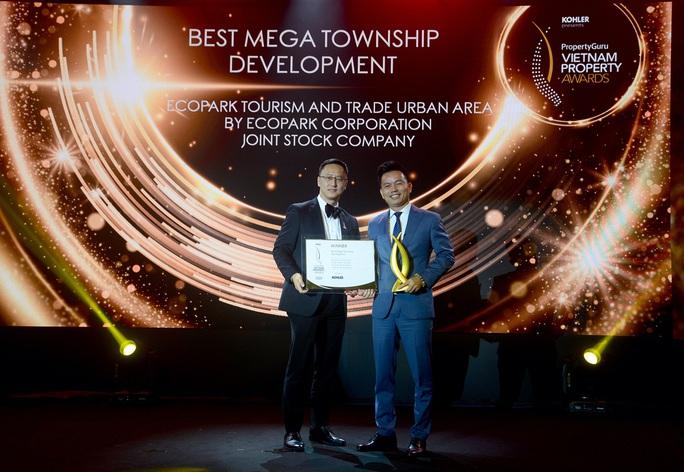"""Ecopark nhận giải thưởng """"Đại đô thị tốt nhất Việt Nam"""" - Ảnh 1."""