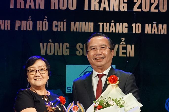 Đông nghệ sĩ ngôi sao chúc mừng diễn viên tranh tài Cuộc thi Trần Hữu Trang - Ảnh 6.
