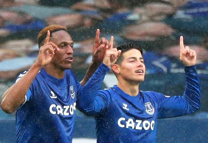 James Rodriguez thể hiện quyền năng, Everton chiếm ngôi đầu Ngoại hạng - Ảnh 6.