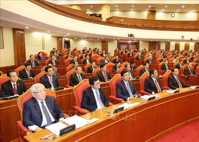 Chùm ảnh Tổng Bí thư, Chủ tịch nước chủ trì khai mạc Hội nghị Trung ương 13 - Ảnh 7.