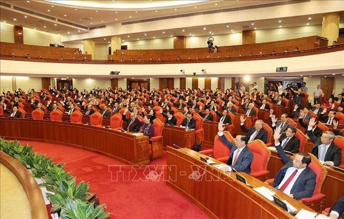 Chùm ảnh Tổng Bí thư, Chủ tịch nước chủ trì khai mạc Hội nghị Trung ương 13 - Ảnh 9.