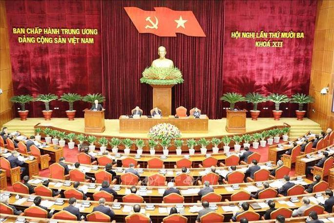 Chùm ảnh Tổng Bí thư, Chủ tịch nước chủ trì khai mạc Hội nghị Trung ương 13 - Ảnh 8.