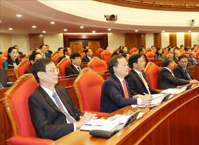 Chùm ảnh Tổng Bí thư, Chủ tịch nước chủ trì khai mạc Hội nghị Trung ương 13 - Ảnh 10.