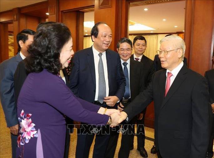 Chùm ảnh Tổng Bí thư, Chủ tịch nước chủ trì khai mạc Hội nghị Trung ương 13 - Ảnh 2.