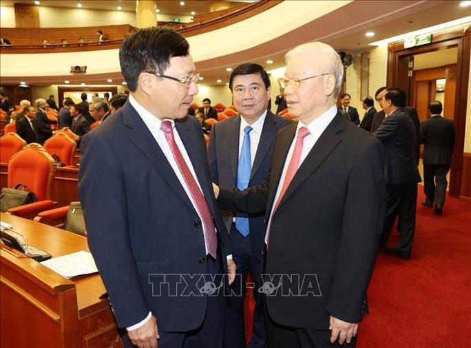 Chùm ảnh Tổng Bí thư, Chủ tịch nước chủ trì khai mạc Hội nghị Trung ương 13 - Ảnh 4.