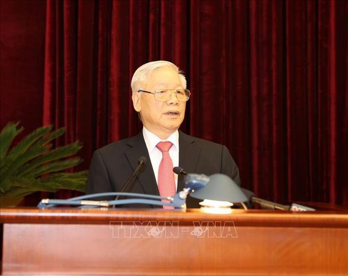 Tổng Bí thư, Chủ tịch nước phát biểu khai mạc Hội nghị Trung ương 13 - Ảnh 1.