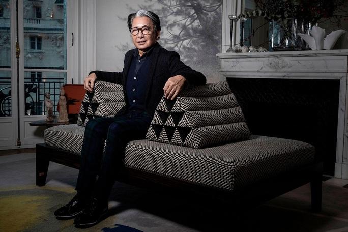 Ông chủ, nhà thiết kế thời trang Kenzo qua đời vì Covid-19 - Ảnh 3.