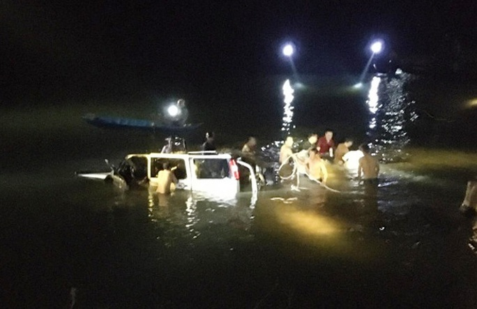 Vụ ôtô lao xuống sông 5 người tử vong: Xác định nguyên nhân sơ bộ gây tai nạn - Ảnh 1.