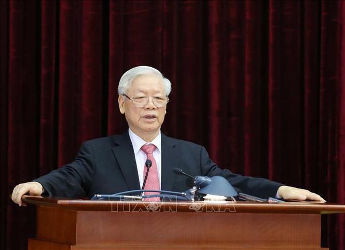 Chủ tịch QH Nguyễn Thị Kim Ngân điều hành ngày làm việc thứ nhất Hội nghị Trung ương 13 - Ảnh 2.