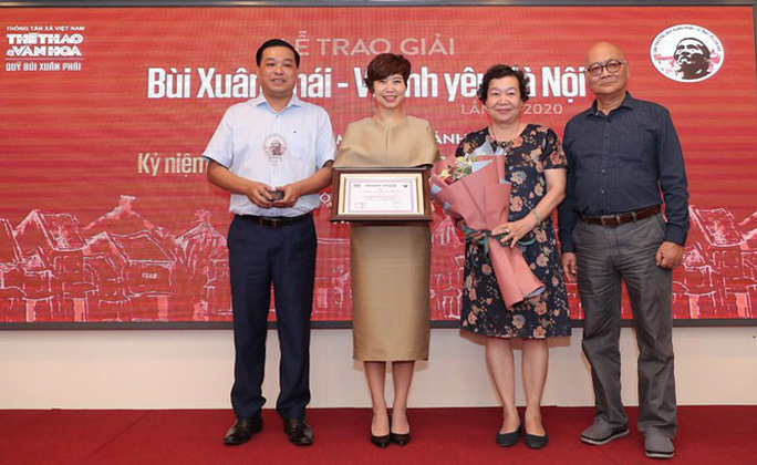 Nhạc sĩ Phú Quang nhận Giải thưởng lớn - Vì tình yêu Hà Nội - Ảnh 3.