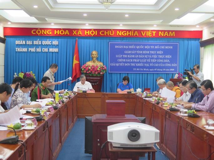 Phó Chủ tịch UBND TP HCM Ngô Minh Châu nói về công tác thi hành án dân sự trong những vụ án lớn, phức tạp - Ảnh 1.