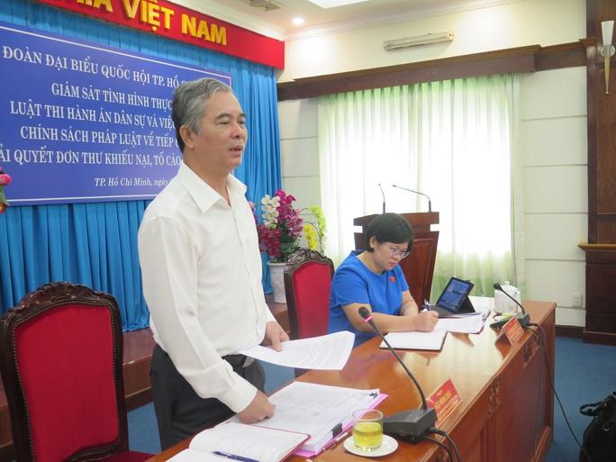 Phó Chủ tịch UBND TP HCM Ngô Minh Châu nói về công tác thi hành án dân sự trong những vụ án lớn, phức tạp - Ảnh 2.