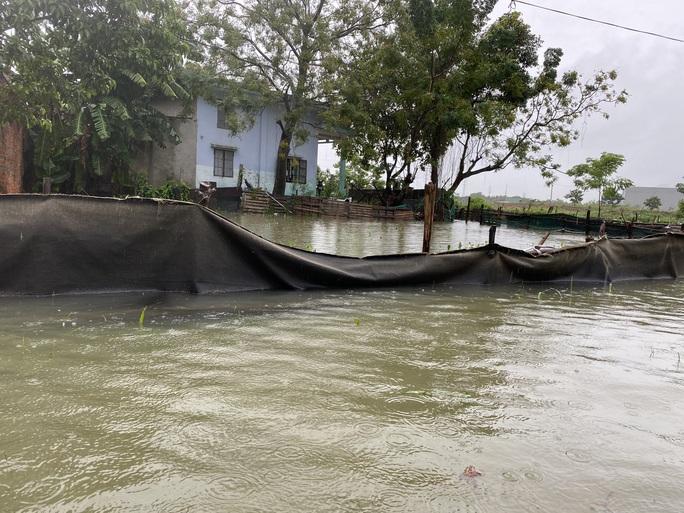 Đà Nẵng: Nhà dân ngập nặng, nhiều người dùng ghe đi lại - Ảnh 9.