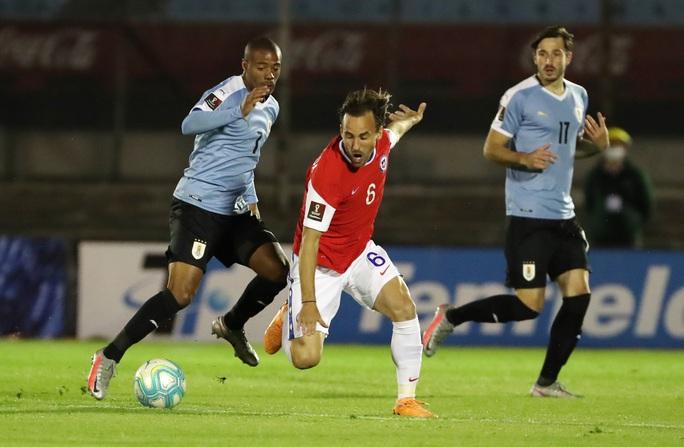 Hai cựu sao Barca ghi bàn, Chile thua đau Uruguay - Ảnh 1.