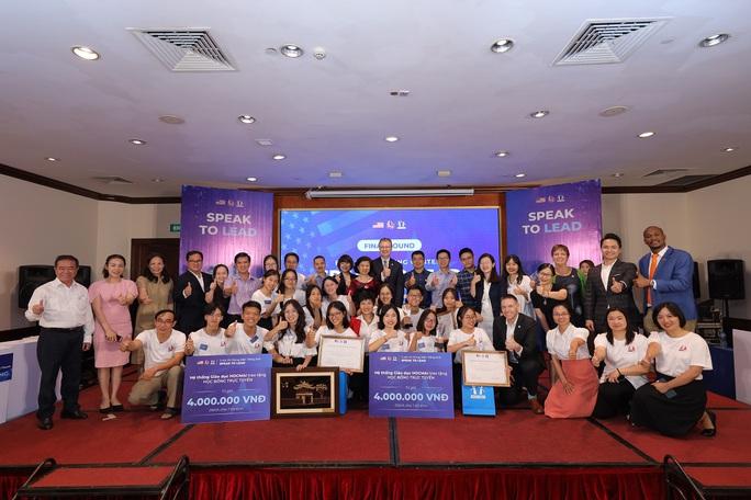 Đội học sinh từ An Giang giành thắng lợi thi hùng biện bằng tiếng Anh - Ảnh 2.
