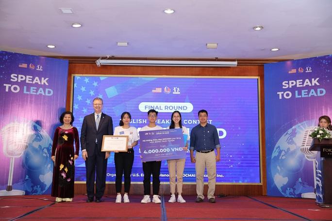 Đội học sinh từ An Giang giành thắng lợi thi hùng biện bằng tiếng Anh - Ảnh 3.