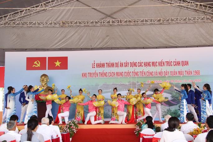 Khánh thành khu truyền thống cách mạng Cuộc Tổng tiến công và nổi dậy Xuân Mậu Thân 1968 - Ảnh 3.