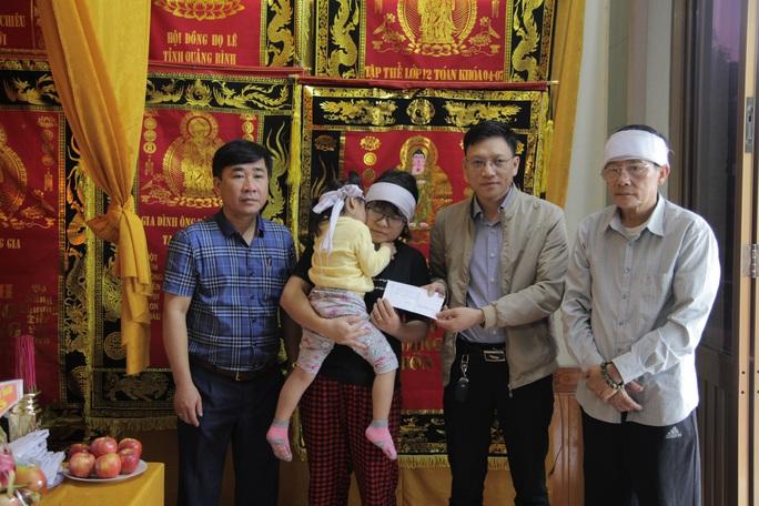 """Chương trình """"Trái tim Miền Trung"""": Hỗ trợ 27 gia đình ở Quảng Bình - Ảnh 1."""