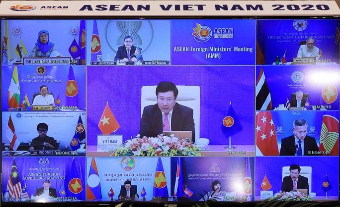 Việt Nam cam kết cùng ASEAN, Trung Quốc sớm đạt được Quy tắc ứng xử ở Biển Đông - Ảnh 1.