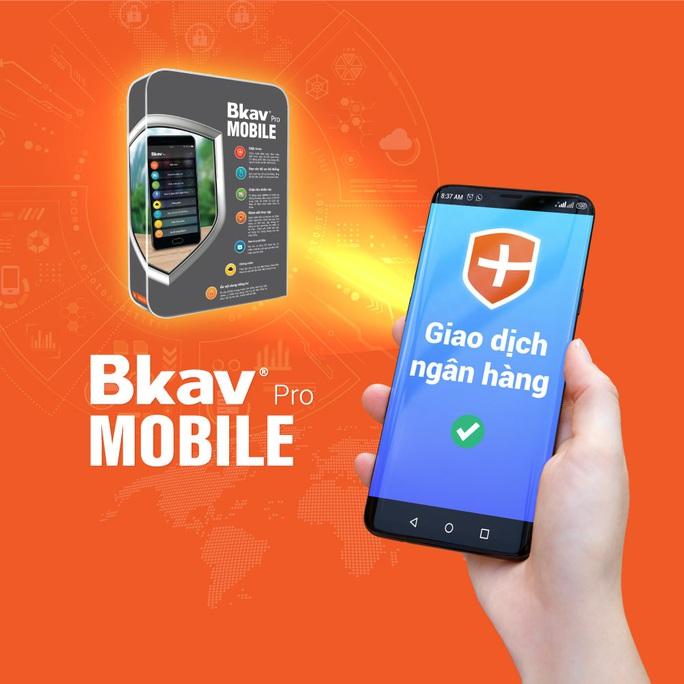 Phần mềm bảo vệ khi giao dịch ngân hàng dành cho smartphone - Ảnh 1.