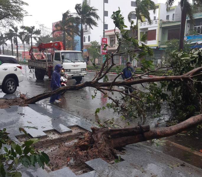 Bão số 12 áp sát bờ Phú Yên, Khánh Hòa, mưa rất to - Ảnh 2.