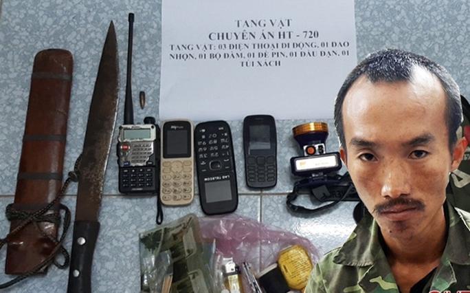 Đấu súng truy bắt nhóm buôn ma túy manh động, trung úy biên phòng bị thương - Ảnh 1.