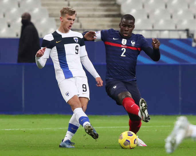 Tuyển Pháp thua sốc Phần Lan ngay trên sân nhà Stade de France - Ảnh 1.