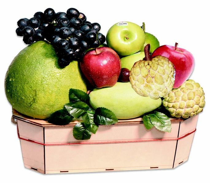 Giỏ quà trái cây cho ngày 20-11 - Ảnh 1.