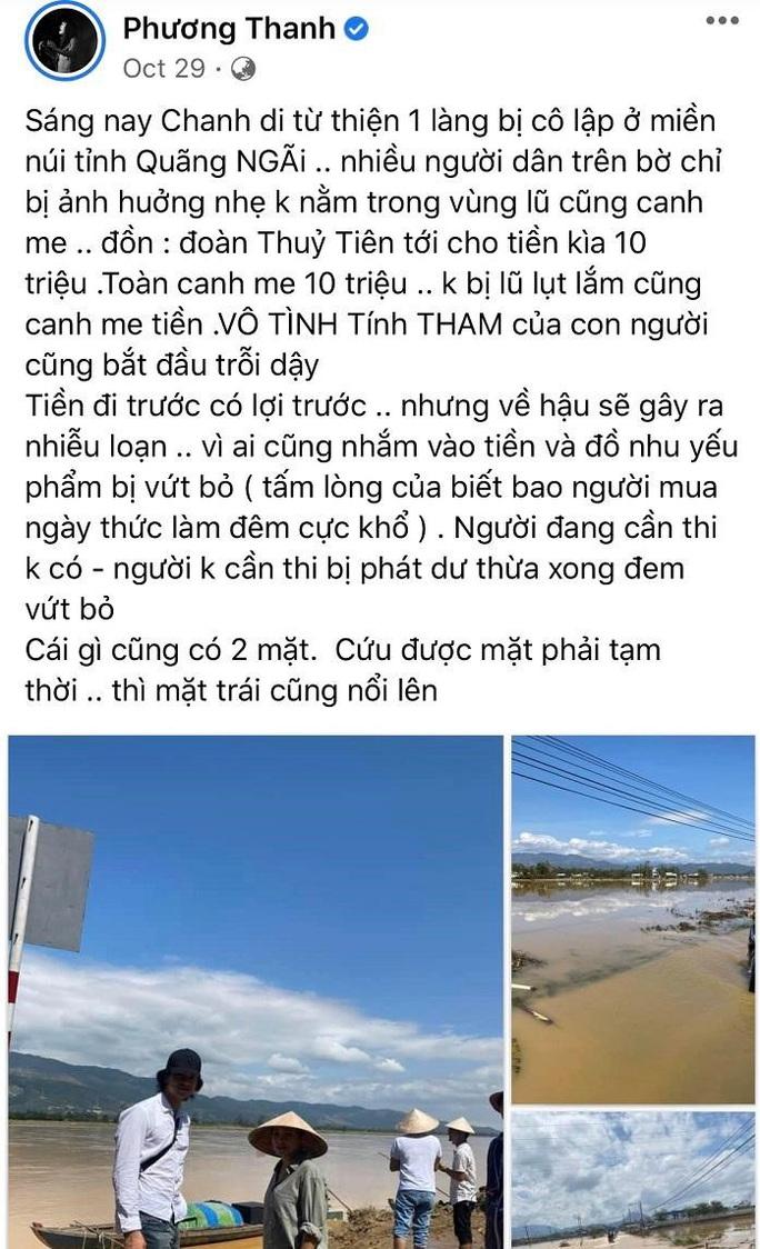 Ca sĩ Phương Thanh gỡ bài viết xúc phạm người dân Quảng Ngãi - Ảnh 4.