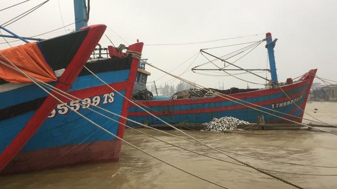 Chùm ảnh, clip: Bão số 13 đi nhanh hơn dự báo, người dân Huế tức tốc chạy bão - Ảnh 13.