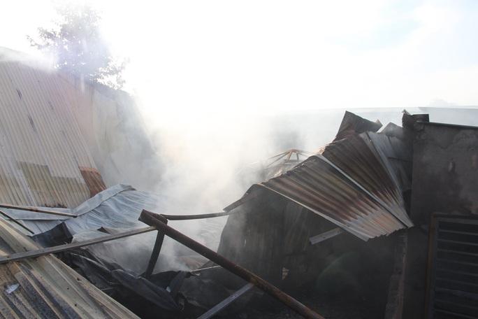 Bà hỏa thiêu rụi hai quán cà phê, một căn nhà ở Bình Dương - Ảnh 1.
