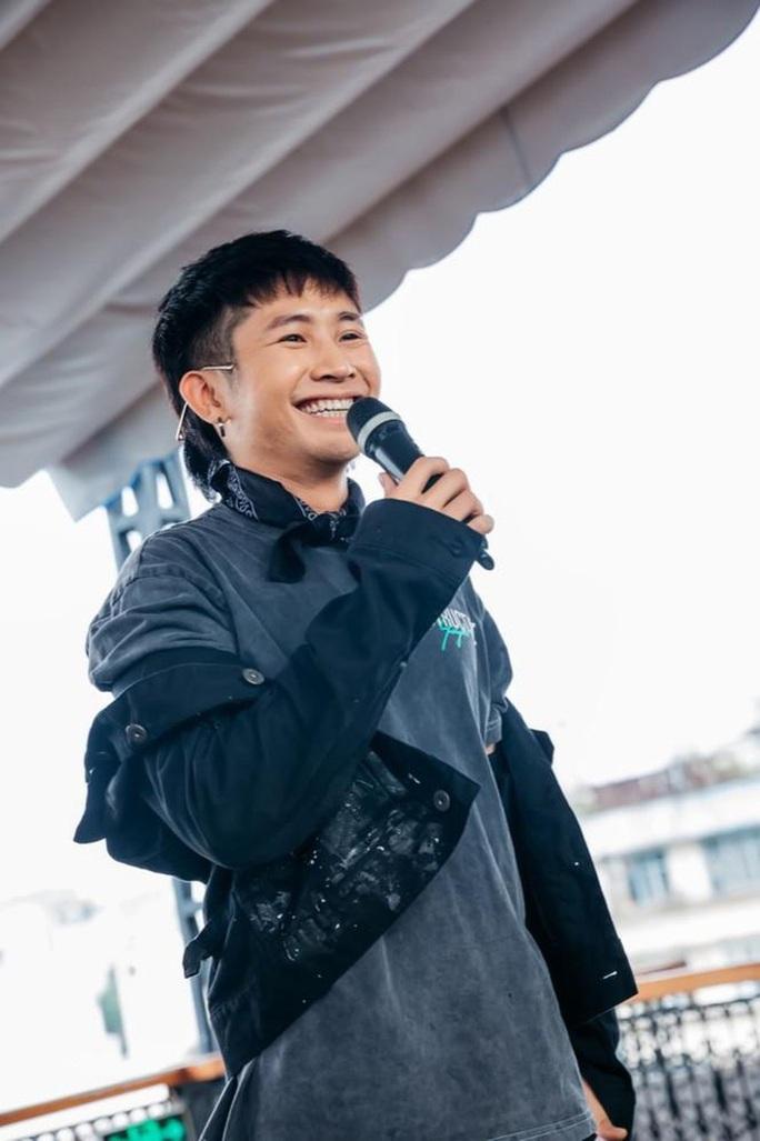 Rapper Ricky Star thua nhan