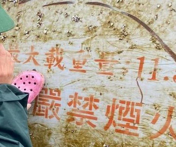 Giải mã vật thể lạ có chữ Trung Quốc trôi vào biển miền Trung - Ảnh 3.