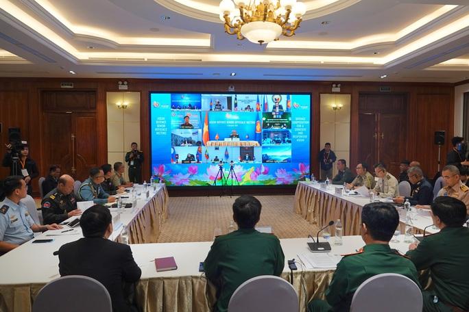 Thượng tướng Nguyễn Chí Vịnh chủ trì hội nghị Quan chức quốc phòng cấp cao ASEAN - Ảnh 2.