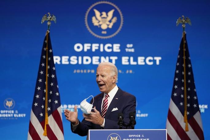 Ông Biden cảnh báo hậu quả thảm khốc nếu ông Trump không hợp tác - Ảnh 1.