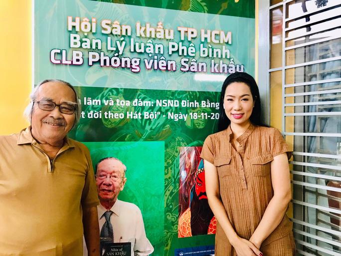 Nghệ sĩ tề tựu vinh danh NSND Đinh Bằng Phi - Ảnh 2.