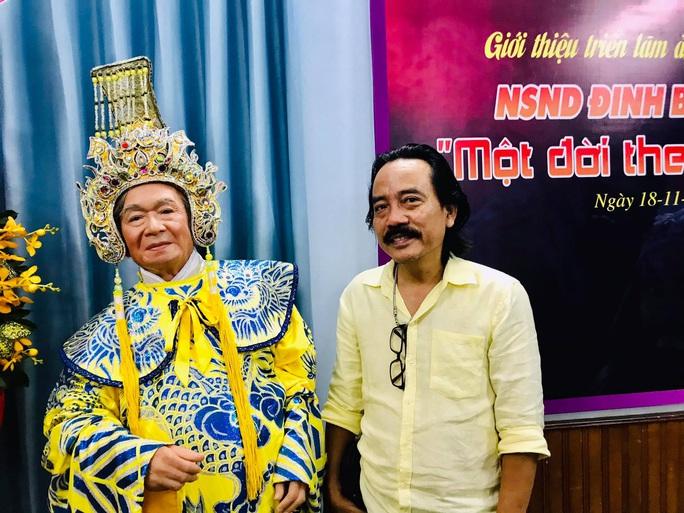 Nghệ sĩ tề tựu vinh danh NSND Đinh Bằng Phi - Ảnh 11.